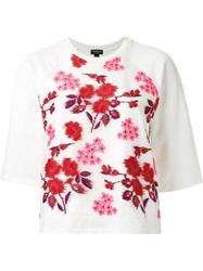 Giambattista Valli Floral Embroidered Sweatshirt