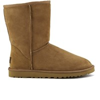 Ugg Australia Men's Classic Short Sheepskin Boots Chestnut Tan