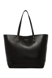 Cole Haan Beckett Large Leather Tote Black