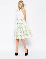 Traffic People Dreaming Of Days Prom Skirt Green