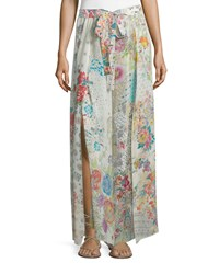 Johnny Was Perro Printed Easy Wide Leg Pants Women's