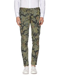 Xagon Man Trousers Casual Trousers Men Military Green