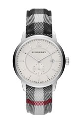 Burberry Men's Stone Horeseferry Quartz Watch Multi