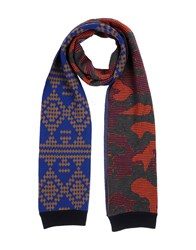 Mauro Grifoni Accessories Oblong Scarves Men Blue