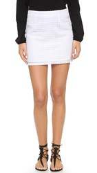 Jack By Bb Dakota Marietta Miniskirt White
