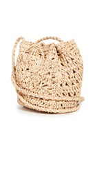 Hat Attack Woven Pouch Crossbody Natural