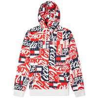Tommy Jeans X Coca Cola Hoody Red