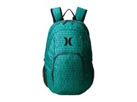 Hurley One And Only Printed Backpack Radiant Emerald Squadron Blue Black Backpack Bags