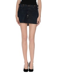 Levi's Red Tab Denim Denim Skirts Women Blue