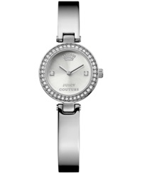 Juicy Couture Women's Luxe Couture Stainless Steel Bangle Bracelet Watch 25Mm 1901235
