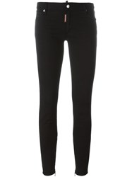 Dsquared2 'Medium Waist Twiggy' Jeans Black