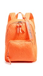 House Of Holland Embroidered Backpack Neon Orange