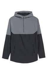 Under Armour Threadborne Vanish Hoodie Graphite Anthracite Grey