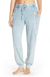 Women's Ugg Australia 'Sybelle' Washed Knit Sweatpants Blue Jay