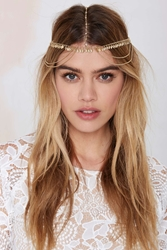 Nasty Gal Avani Rhinestone Head Piece