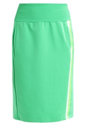 United Colors Of Benetton Gonna Pencil Skirt Green