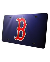 Rico Industries Boston Red Sox License Plate Blue