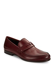Harry's Of London James Satin Penny Loafers Port