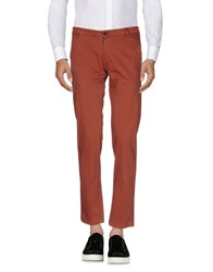 One Seven Two Casual Pants Rust