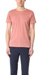 Norse Projects Esbend Blind Stitch Tee Fusion Pink