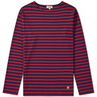 Armor Lux 02297 Long Sleeve Mariniere Tee Red