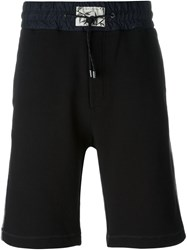 Marc Jacobs Bermuda Style Track Shorts Black