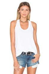 Splendid Vintage Whisper Twist Back Tank White