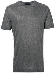 Neil Barrett Travel T Shirt Men Viscose M Grey