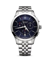 Victorinox Swiss Army Bracelet Chronograph 44Mm Blue
