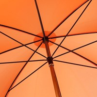 London Undercover City Gent Lifesaver Umbrella Orange