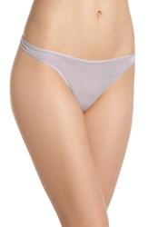 Felina 'Sublime' Thong Gull Grey