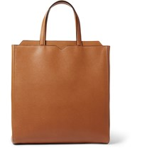 Valextra Leather Tote Bag Tan
