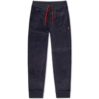 Polo Ralph Lauren Velour Track Pant Blue