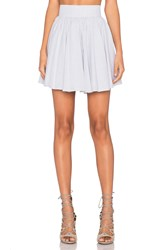 Lucca Couture Skater Skirt White