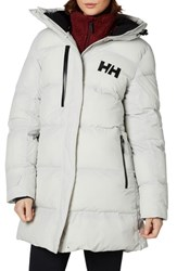 Helly Hansen Adore Insulated Water Repellent Puffy Parka Nimbus Cloud