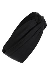 Tasha Turban Head Wrap Black