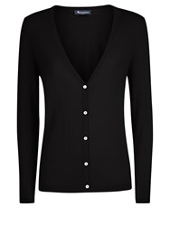 Aquascutum London Bramble Cardigan Black