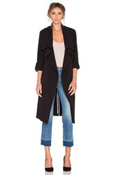 Soia And Kyo Ornella Trench Coat Black