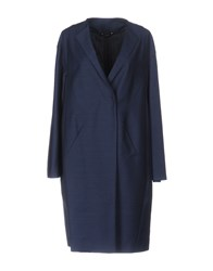 Tonello Overcoats Slate Blue