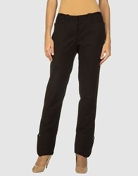 Dinou Casual Pants Dark Brown