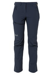 Jack Wolfskin Activate Trousers Night Blue Dark Blue