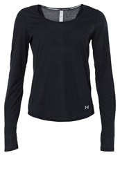 Under Armour Long Sleeved Top Black