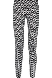 Missoni Crochet Knit Slim Leg Pants