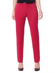 Nautica Ankle Pants Red