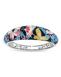 Belle Etoile Butterfly Kisses Bangle Black