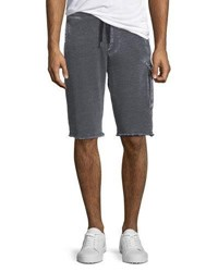 Atm Anthony Thomas Melillo Sun Bleached French Terry Shorts Charcoal