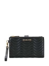 Michael Michael Kors Large Quilted Wallet Black