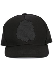 Unravel Project Skull Patch Cap Black