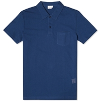 Sunspel Riviera Polo Cobalt