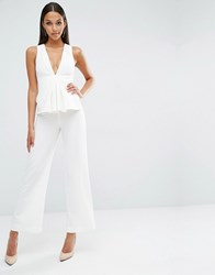 Aq Aq Aqaq Ceilio Jumpsuit Cream